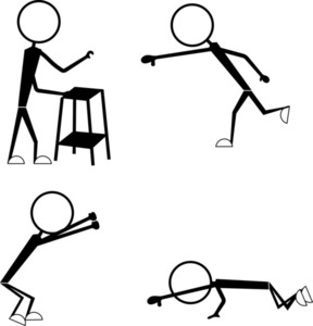 Stick Figure Cartoon Characters