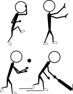 Stick Figure People Actions
