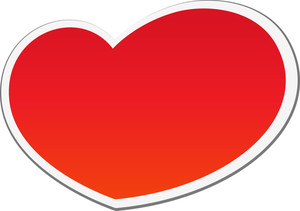 Sticker Style Heart