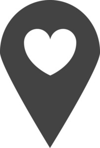 Sticky Love Glyph Icon