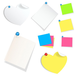Sticky Notes Vectors