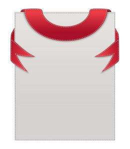 Stitch Banner Vector Illustration