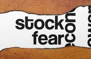 Stock Fear Concept