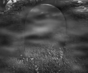 Stone Arch Dark Fantasy Backdrop
