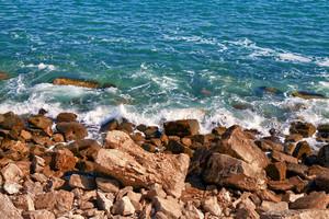 Stone seashore