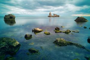 Stones in the seashore