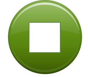 Stop Square Green Circle