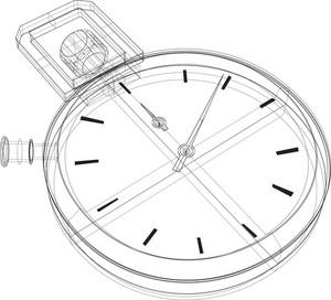 Stopwatch Wireframe
