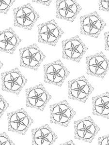 Black And White Seamless Pattern