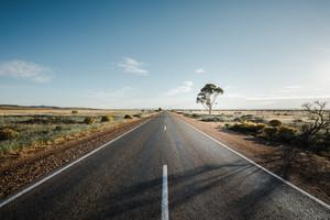 A road in Flinders Ranges in South Australia