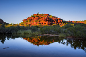 Beautiful scene in the Northern Territory, Australia