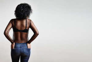 beauty woman's back