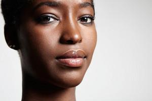 black woman's portrait