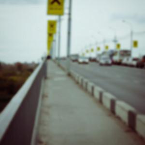 Blur dark city background