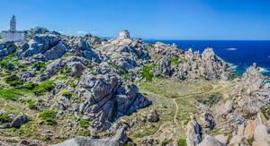 Capo Testa near Santa di Gallura, Sardinia, Italy