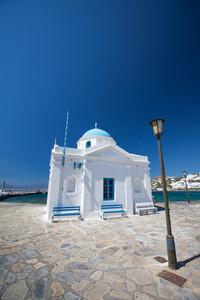 Church building in Mykonos