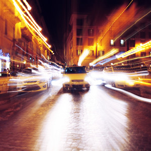 City blur abstract background