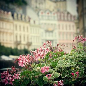 city vintage background