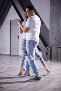 Dancers on kizomba rhythm making the most out of it. Pure love for dancing.