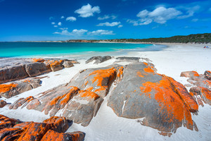 Dolphin Bay on the Yorke Peninsula, South Australia