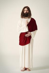 Full length of Jesus Christ