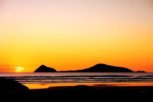 Gorgeous Sunset at Wilsons Promontory in Victoria, Australia