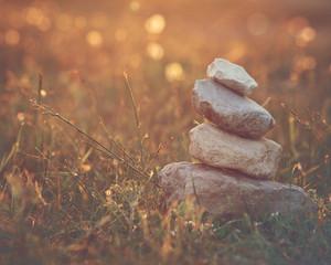 harmony. Nature calm and balance