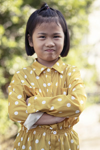 lovely face of asian children kidding face happiness emotion