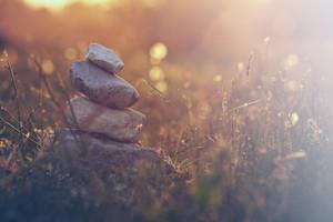 nature balance. Calm symbol