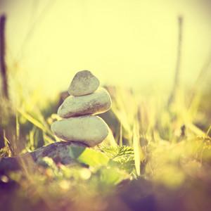 nature. Calm symbol