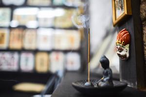 Objects of buddhism spiritual worship