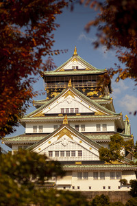 osaka castle one of most popular traveling destination in japan