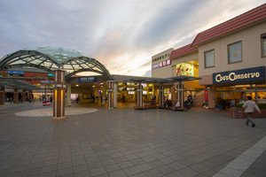osaka japan - november5,2018 : exterior of mino-o trains station,mino station is end of hunkyu-mino trains line