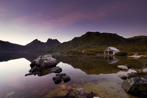 Peaceful Sunrise over Cradle Mountain, Tasmania