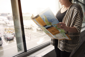 Planning the travel on the airport