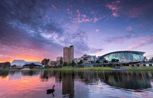 River Torrens in the City of Adelaide