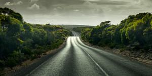 Road in the Yorke Peninsula, South Australia