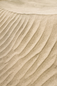 Sand pattern, interesting abstract texture from sand tune on cape verde. Vertical shot