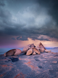 Storm over Remarkable Rocks, Kangaroo Island, South Australia