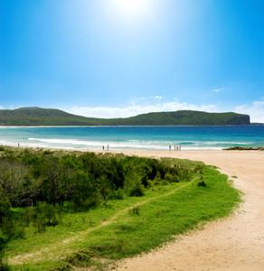 Summer vacation at Australian Beach