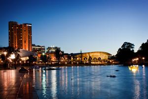 The River Torrens in Adelaide, Australia