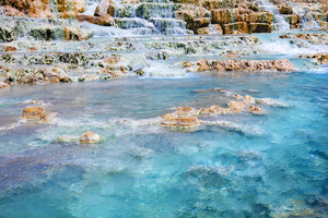 Thermal springs Saturnia, Tuscany, Italy