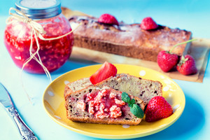 Strawberry Butter And Banana Bread