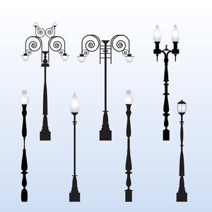 Street Light Vectors