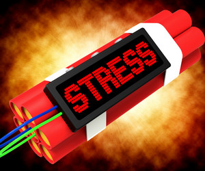Stress On Dynamite Showing Pressure Of Work