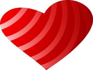 Stripes Heart