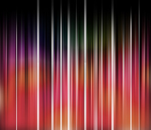 Stripped Curtain Background