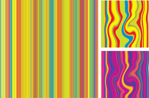 Stripped Seamless Vector Background.