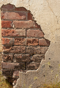 Stucco And Brick Texture