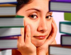 Student Worried About Many Books To Read